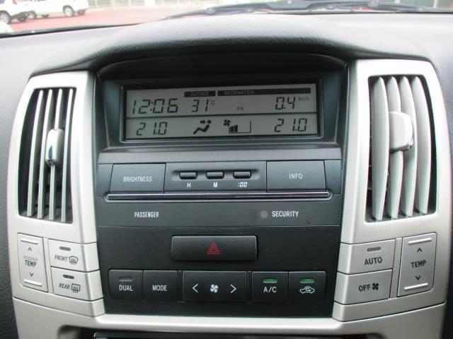 エアコン完備!車内をいつでも快適に調整してくれます♪