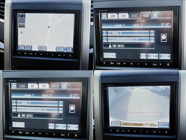 2.4Z 7人乗/フリップダウンモニター/両側パワースライドドア/純正HDDナビ/DVD・CD再生/CD録音/BTオーディオ・TEL接続/フルセグTV/バックモニタ/ETC/HIDヘッドライト/スマートキー(6枚目)