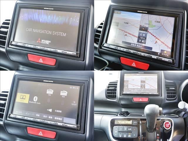 G ワンオーナー/社外メモリナビ/DVD・CD再生/フルセグTV/ブルートゥースオーディオ・TEL接続/両側スライドドア/フロアマット/ドアバイザー/電格ミラー/プライバシーガラス/保証書/取説(5枚目)