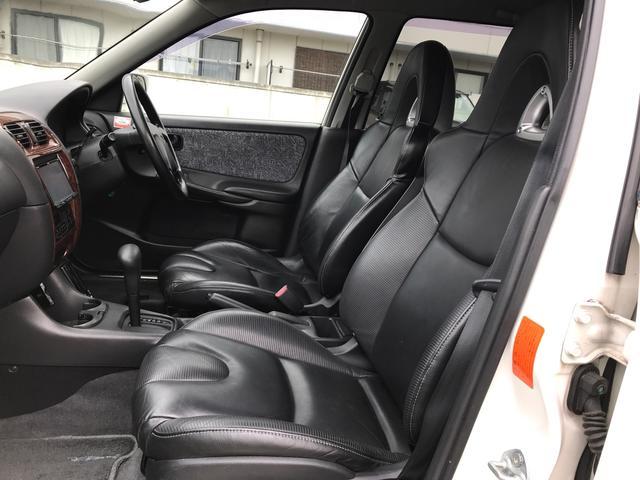 GL-X D2オーダー制作サスペンション 本革バケットシート BBSアルミ ナビTV バックモニター ETC(20枚目)