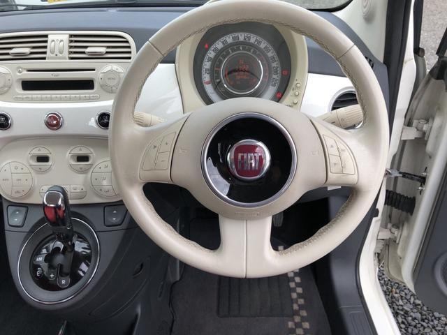 フィアット フィアット 500 1.2 8V ラウンジ キーレス ETC ABS CD