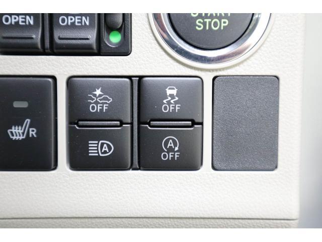 衝突被害軽減ブレーキ(左)、横滑り防止装置(右)、日ビームアシスト(左下)、アイドリングストップ(右下)
