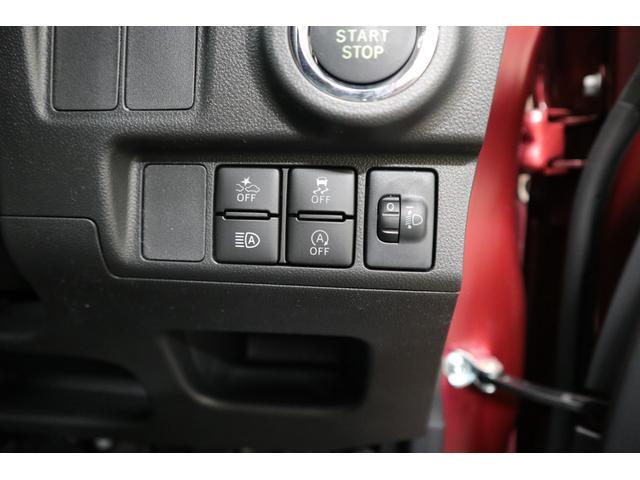 衝突被害軽減ブレーキ(左上)、横滑り防止装置(ESC、右上)、ハイビームアシスト(左下)、アイドリングストップ(右下)