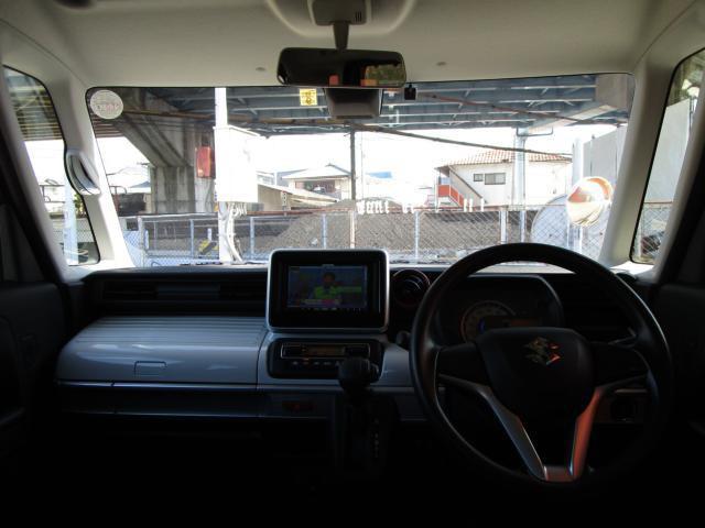 ハイブリッドX 両側電動スライドドア シートヒーター LEDヘッドライト 障害物センサー アイドリングストップ 衝突被害軽減ブレーキ フルセグTVナビ DVD再生 Bluetooth(10枚目)