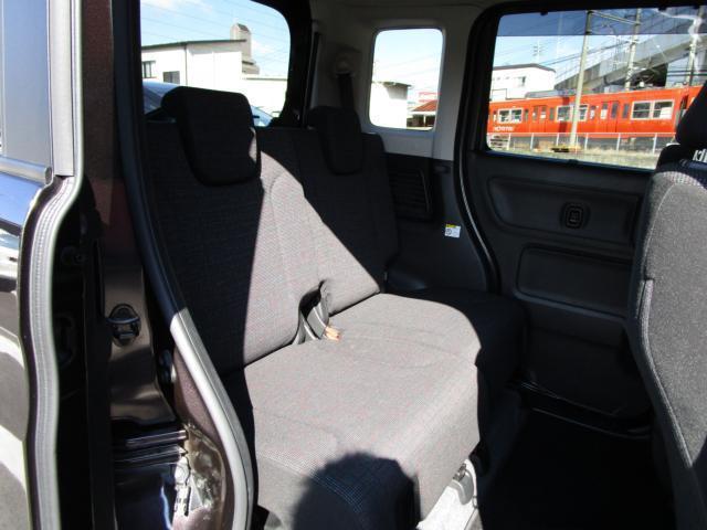 ハイブリッドX 両側電動スライドドア シートヒーター LEDヘッドライト 障害物センサー アイドリングストップ 衝突被害軽減ブレーキ フルセグTVナビ DVD再生 Bluetooth(44枚目)