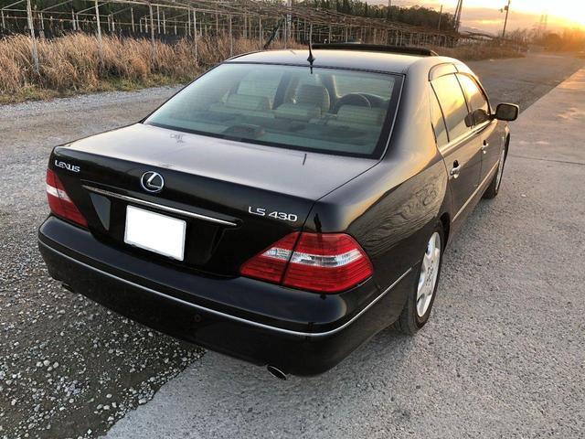 「レクサス」「レクサス LS430」「セダン」「愛媛県」の中古車4