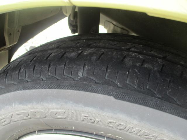 タイヤの溝もあるので、今すぐの交換は必要ありません。