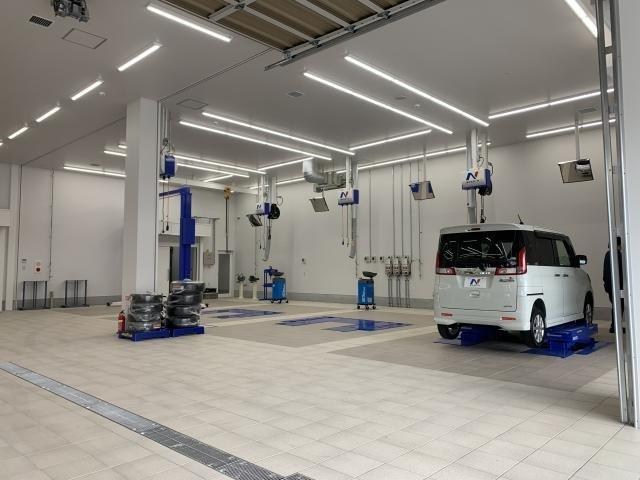 納車前の整備はもちろん、車検やオイル交換などメンテナンスだけでのご利用も大歓迎です!