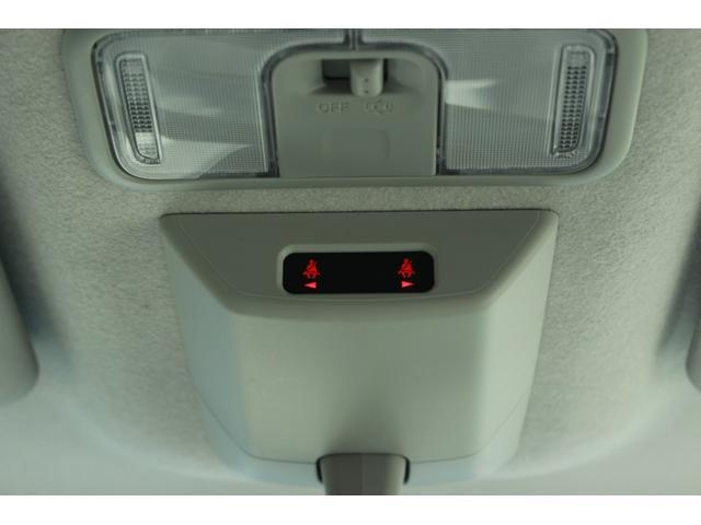 シートベルト締め忘れ警告灯です。同乗者の安全確保を運転席から確認できます。