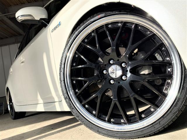 G 新品タナベ車高調・新品19AW・新品タイヤ・新品シートカバー・新品エアロ・コーナーセンサー・クルーズコントロール・Bカメラ・最上級グレード・マルチナビ・Bluetooth・フォグランプ・ハーフエアロ(9枚目)