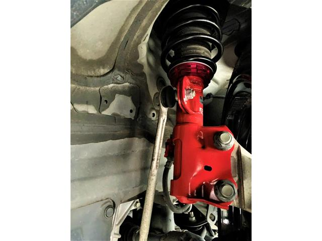 S 新品タナベ車高調・新品19AW・新品タイヤ・フォグランプ・ステアリングリモコン・純正7型SDナビ・TV・オートエアコン(19枚目)