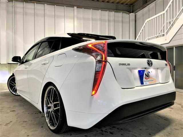 S 新品車高調・新品19アルミ・新品タイヤ・新品シートカバー・フォグランプ・純正ビルトインETC・純正ナビ・Bluetooth・TV・バックカメラ・スマートキー・ウィンカーミラー・LEDヘッドライト・(7枚目)
