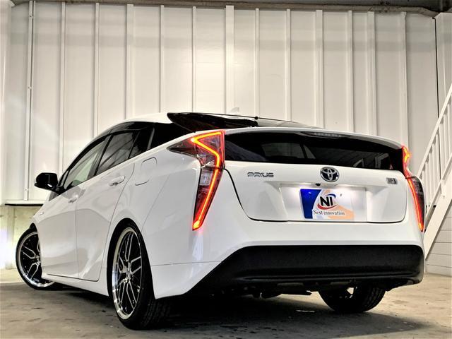 S 新品車高調・新品19アルミ・新品タイヤ・新品シートカバー・フォグランプ・純正ビルトインETC・純正ナビ・Bluetooth・TV・バックカメラ・スマートキー・ウィンカーミラー・LEDヘッドライト・(9枚目)