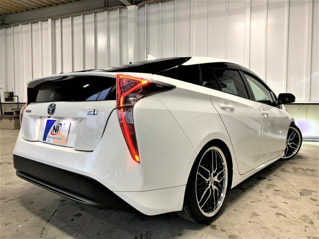 S 新品車高調・新品19アルミ・新品タイヤ・新品シートカバー・フォグランプ・純正ビルトインETC・純正ナビ・Bluetooth・TV・バックカメラ・スマートキー・ウィンカーミラー・LEDヘッドライト・(14枚目)