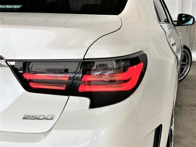 250G リラックスセレクション 車高調・新品19アルミ・シートカバー・新品G´Sバンパー・新品シーケンシャルヘッドライト・新品LEDファイバーテール・流れるウィンカー・Cセンサ・マルチナビ・Bカメ・ETC・フォグ(17枚目)