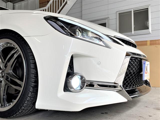 250G リラックスセレクション 車高調・新品19アルミ・シートカバー・新品G´Sバンパー・新品シーケンシャルヘッドライト・新品LEDファイバーテール・流れるウィンカー・Cセンサ・マルチナビ・Bカメ・ETC・フォグ(26枚目)