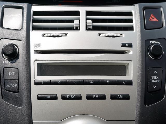 トヨタ ヴィッツ F ワンオナ 禁煙 ラジオ CD