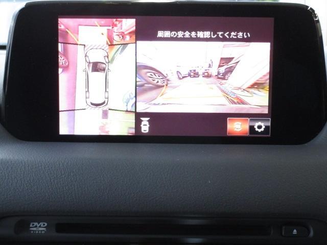 XD L-PKG 4WD マツコネ 360°モニター 試乗車(11枚目)