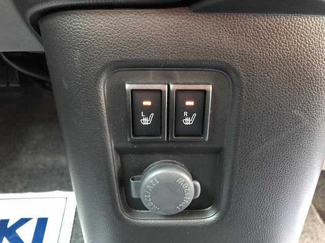 運転席・助手席シートヒーター付きです!!冬場は嬉しい機能です♪スイッチを押すとシートの座面が暖かくなります!!