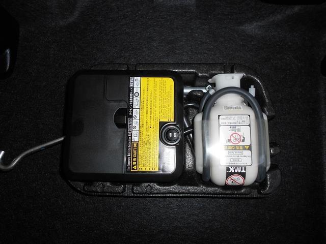 軽量コンパクトなパンク修理キットは燃費向上に貢献します。