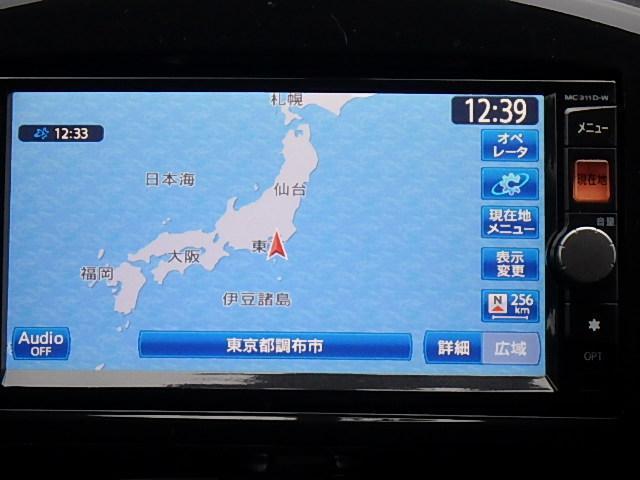 日産 ジューク 16GT 純正メモリーナビ・フルセグTV・キセノンライト