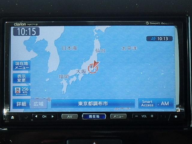 X クラリオン製SDナビ 地デジTV(4枚目)