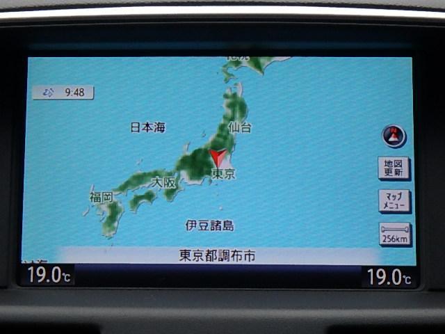 370GT タイプS 純正HDDナビ 地デジTV(4枚目)