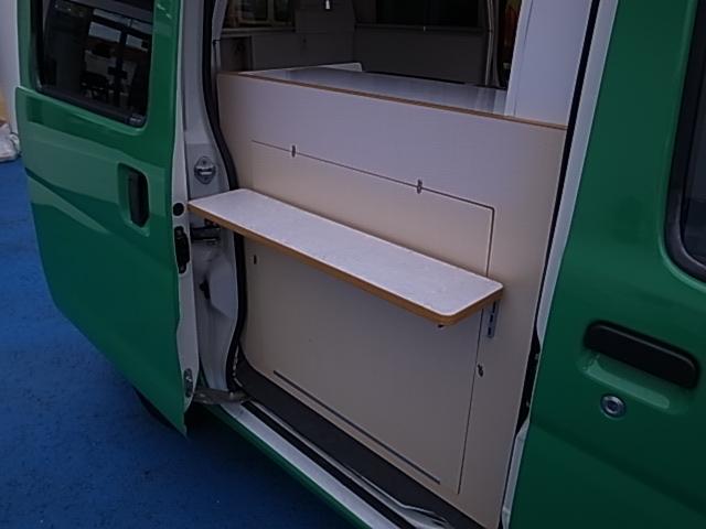 移動販売車 サブバッテリーシステム 冷蔵庫(5枚目)