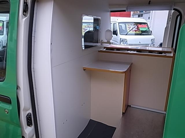 移動販売車 サブバッテリーシステム 冷蔵庫(6枚目)