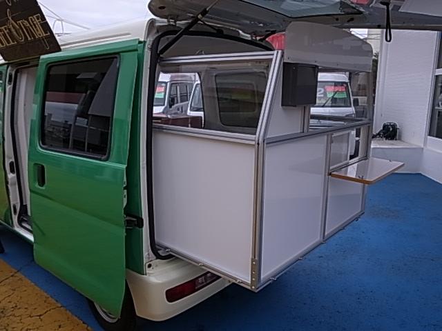 移動販売車 サブバッテリーシステム 冷蔵庫(17枚目)
