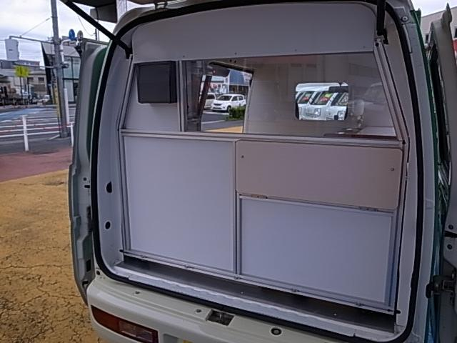 移動販売車 サブバッテリーシステム 冷蔵庫(37枚目)