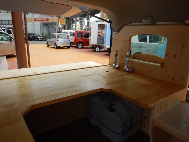 新規製作オリジナルキッチンカー ケータリング車(34枚目)