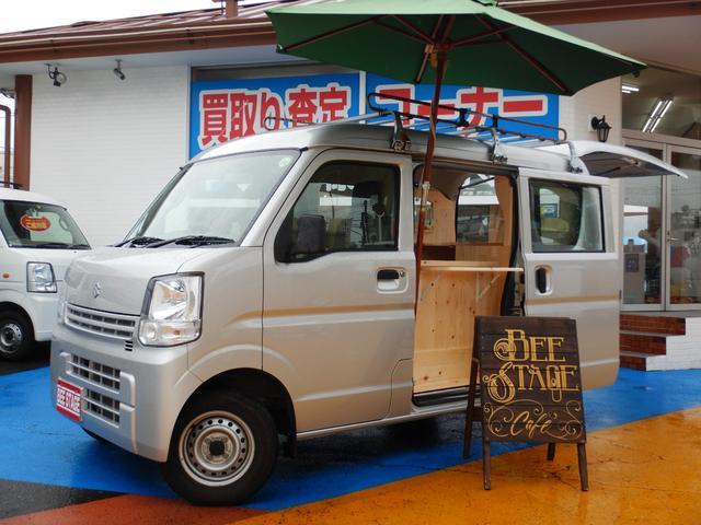 PA キャリア付き ハイルーフ キッチンカーベース車両(2枚目)