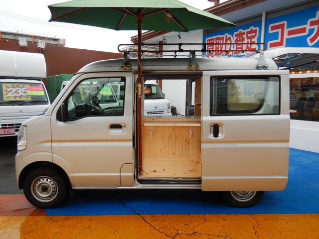 PA キャリア付き ハイルーフ キッチンカーベース車両(12枚目)