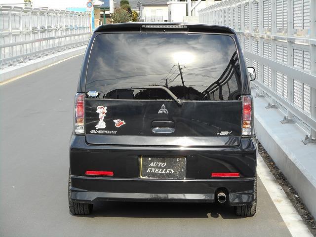 三菱 eKスポーツ Rターボ 6ヶ月保証 ミッション修理済み