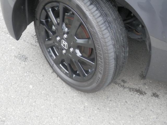 15インチアルミホイール(オールブラック)+スチールラジアルタイヤ!ローダウンサスペンション!