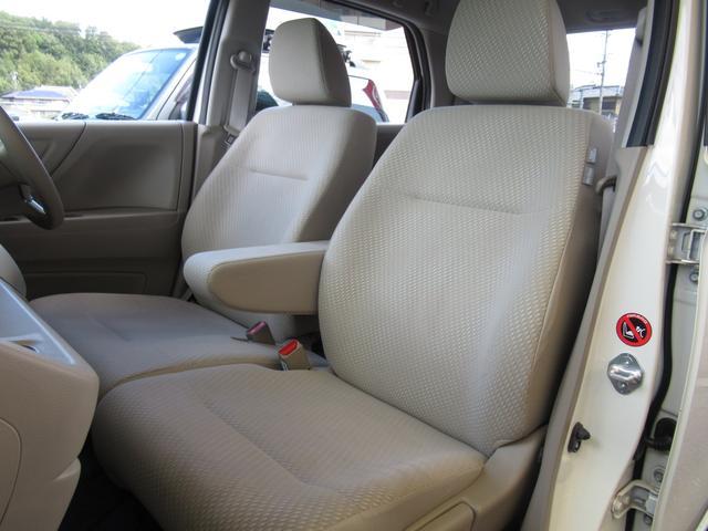 自慢のシート状態です。前オーナー様も丁寧に乗ってこられたお車です♪