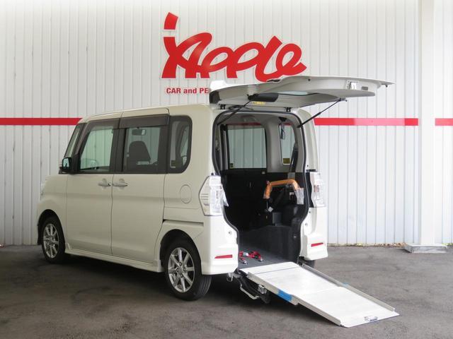 カスタムX SAII スローパー福祉車 電動ウインチ ETC(3枚目)