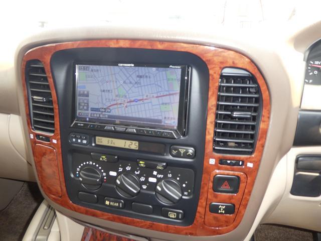 トヨタ ランドクルーザー100 VXリミテッド SDナビ HID フルセグ