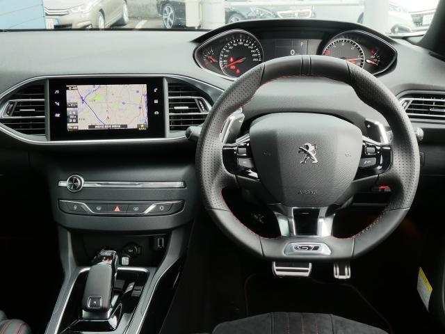 GT ブルーHDi クリーンディーゼルターボ 8速AT 新車保証継承 純正ナビTV ETC 自動ハイビームLEDライト アクティブクルコン レーンキープアシスト ブラインドスポットモニター 後カメラ 前後ソナー(6枚目)