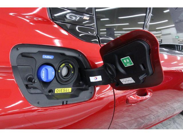 JC08モード燃費は、18.3km/リットルです。使用燃料は軽油で、燃料タンクには55リットル入ります。