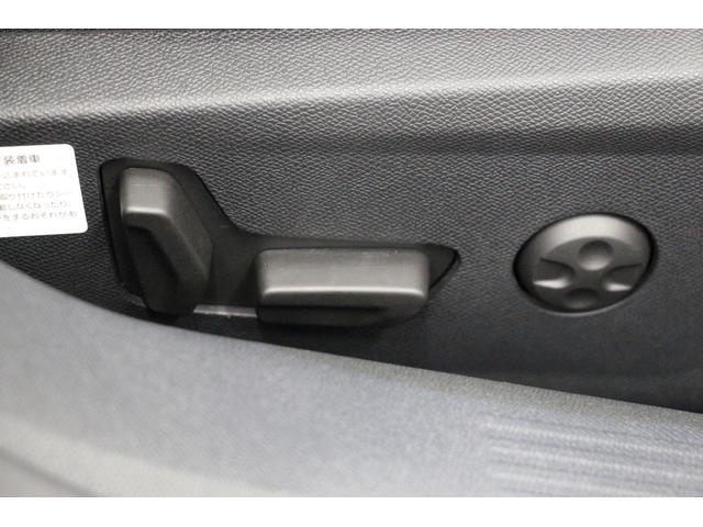 ランバーサポート機能付きのパワーシートを標準装備しているので、すぐにベストポジションに合わせる事ができます。