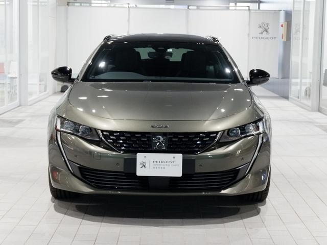 SW GT ブルーHDi 新車保証継承 元試乗車 サンルーフ 純正ナビ ETC付(8枚目)