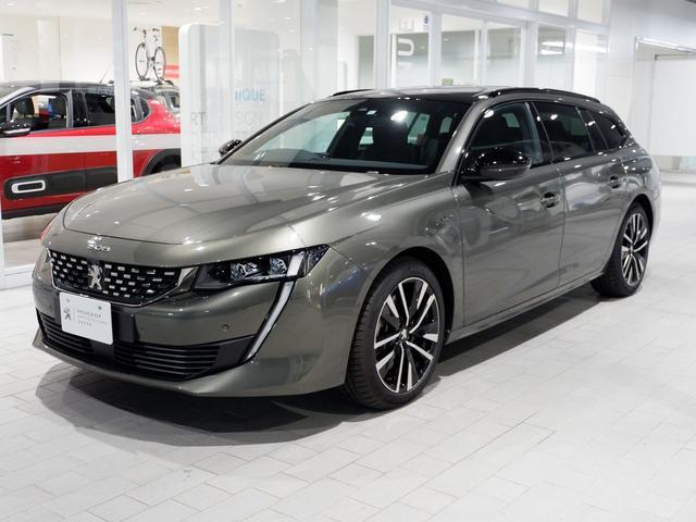 SW GT ブルーHDi 新車保証継承 元試乗車 サンルーフ 純正ナビ ETC付(9枚目)