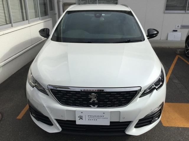 SW GT ブルーHDi当社試乗車使用 新車保証継承(3枚目)