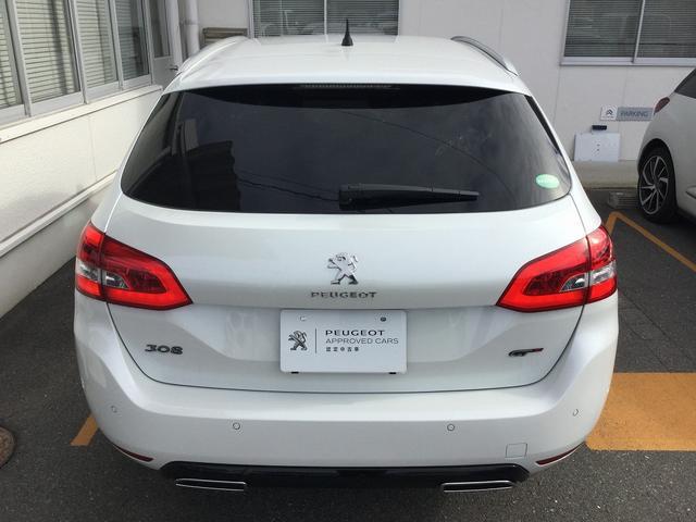 SW GT ブルーHDi当社試乗車使用 新車保証継承(12枚目)