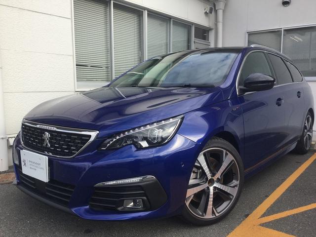 SW GT ブルーHDi新車保証 8AT CarPlay対応(2枚目)