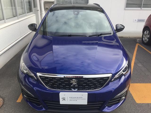 SW GT ブルーHDi新車保証 8AT CarPlay対応(3枚目)