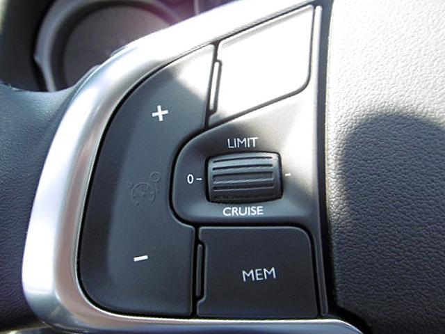 高速道路などで定速走行する際、アクセル操作から開放させてくれるクルーズコントロールを装備。安心のスピードリミッター機能も付いてます。