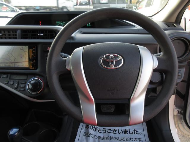 トヨタ アクア S純正HDDナビ1セグTVワンオーナー